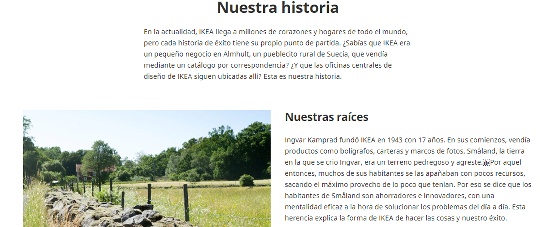 Como contar la historia de tu empresa-Ikea