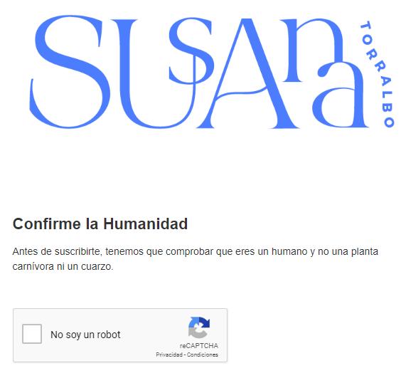 Susana Torralbo - Empezar a escribir una newsletter